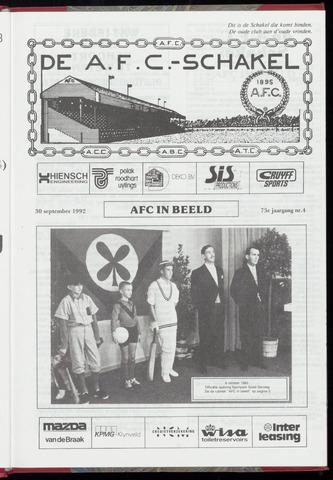Schakels (clubbladen) 1992-09-30