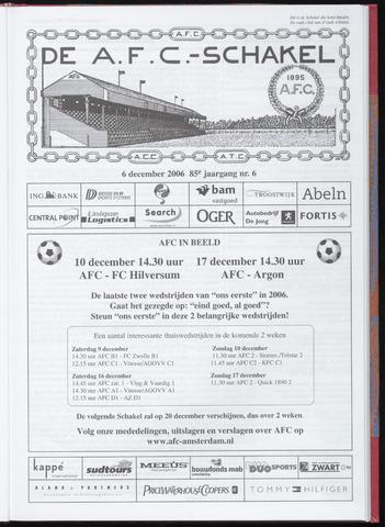 Schakels (clubbladen) 2006-12-06