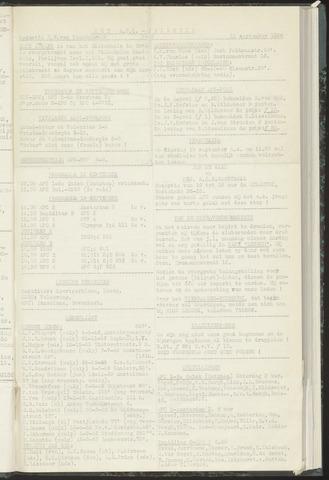 Bulletins (vnl. opstellingen) 1956-09-11