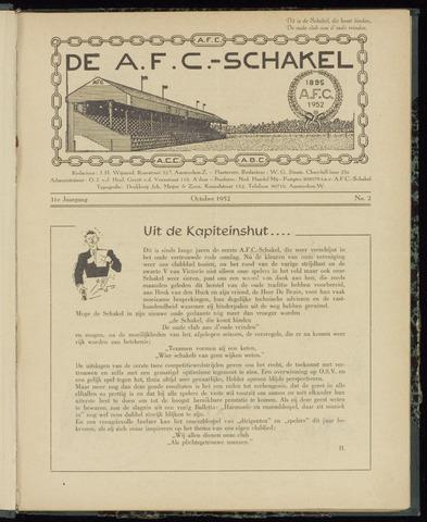 Schakels (clubbladen) 1952-10-01