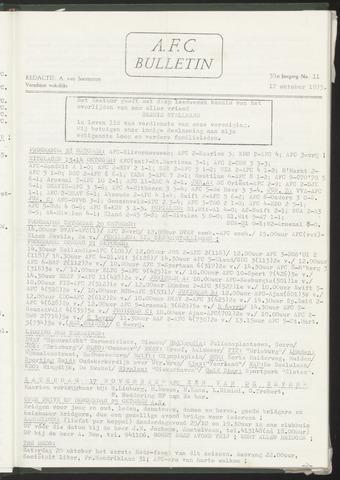 Bulletins (vnl. opstellingen) 1973-10-17