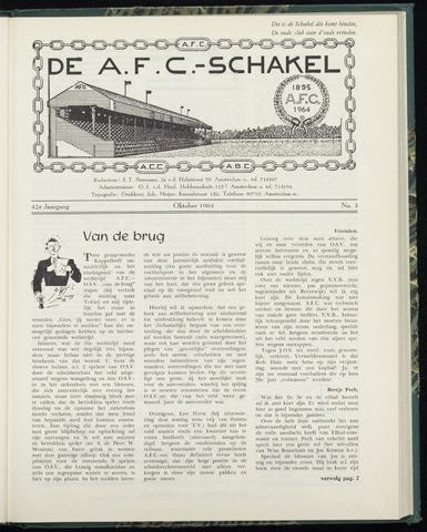 Schakels (clubbladen) 1964-10-01