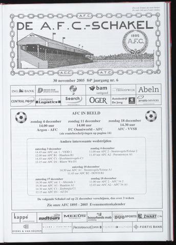 Schakels (clubbladen) 2005-11-30