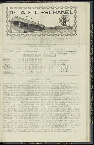 Schakels (clubbladen) 1938-04-07