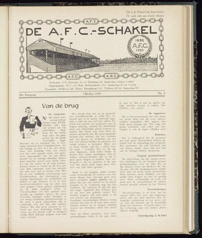 Schakels (clubbladen) 1959-10-01