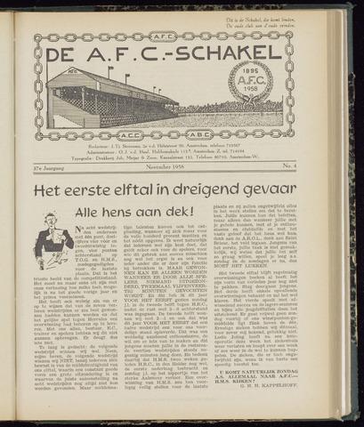 Schakels (clubbladen) 1958-11-01