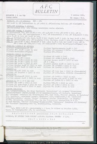 Bulletins (vnl. opstellingen) 1968-10-09