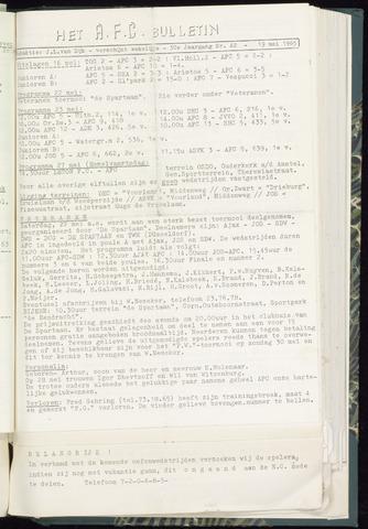 Bulletins (vnl. opstellingen) 1965-05-19