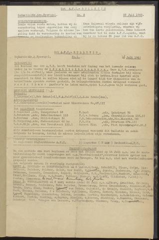 Bulletins (vnl. opstellingen) 1949-07-16