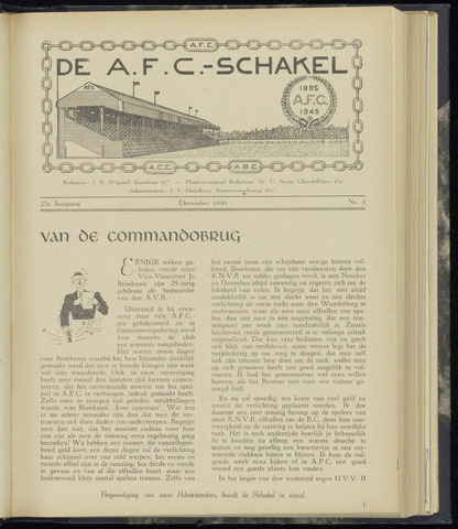Schakels (clubbladen) 1946-12-01