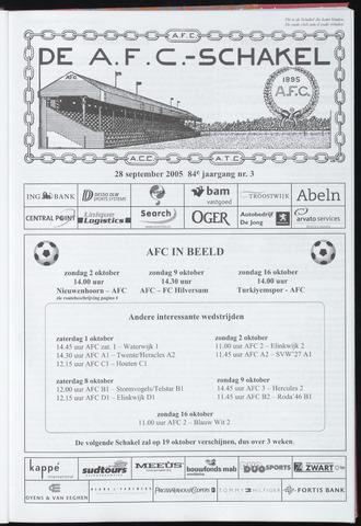 Schakels (clubbladen) 2005-09-28
