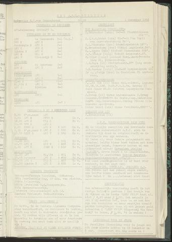 Bulletins (vnl. opstellingen) 1953-12-01