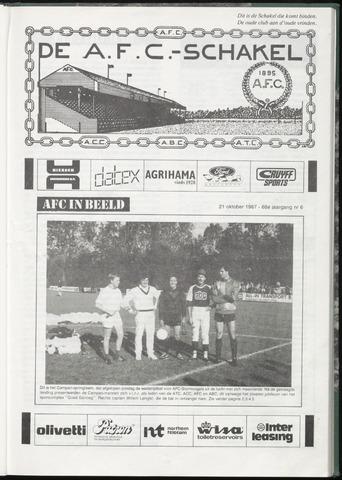 Schakels (clubbladen) 1987-10-21