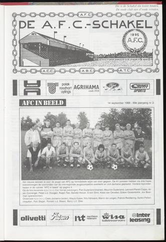 Schakels (clubbladen) 1988-09-14