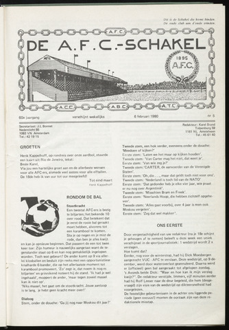 Schakels (clubbladen) 1980-02-06