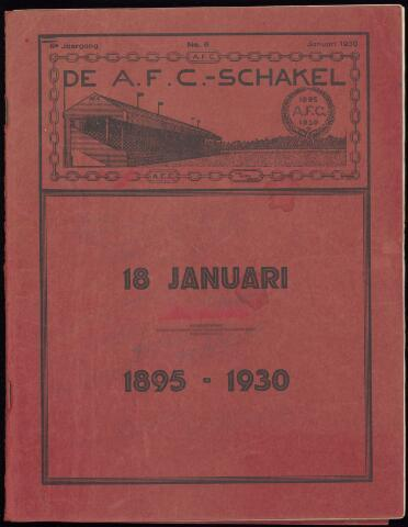 Jubileumboeken 1930