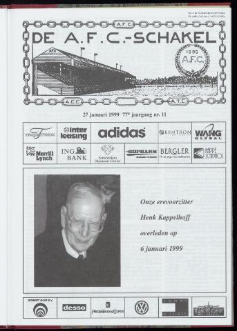 Schakels (clubbladen) 1999-01-27