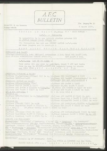 Bulletins (vnl. opstellingen) 1974-03-06