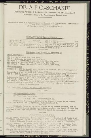 Schakels (clubbladen) 1943-02-18