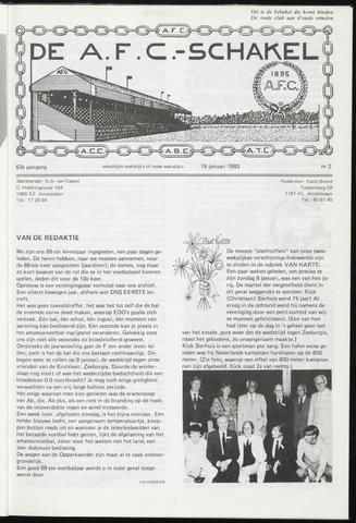 Schakels (clubbladen) 1983-01-19