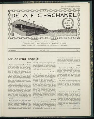 Schakels (clubbladen) 1968-06-01