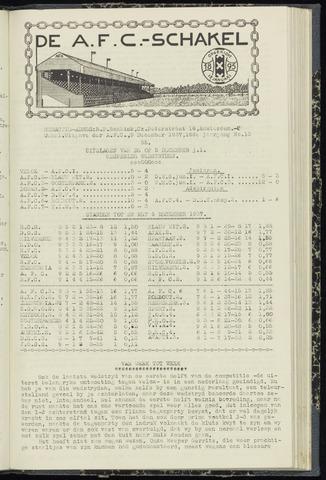 Schakels (clubbladen) 1937-12-09