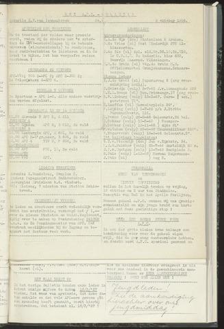 Bulletins (vnl. opstellingen) 1956-10-09
