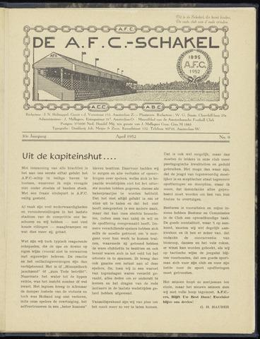 Schakels (clubbladen) 1952-04-01