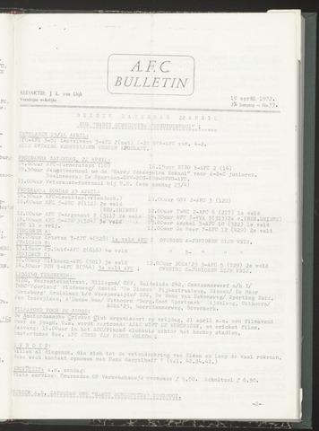 Bulletins (vnl. opstellingen) 1972-04-19