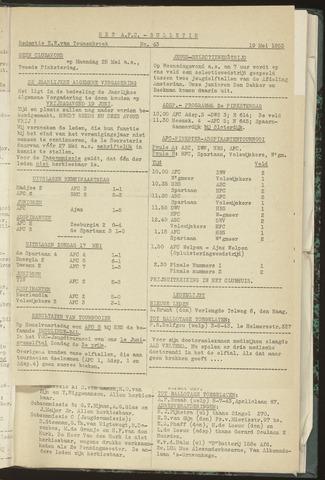 Bulletins (vnl. opstellingen) 1953-05-19