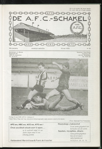 Schakels (clubbladen) 1979-05-16