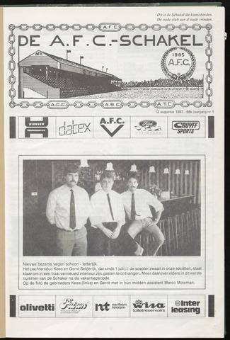 Schakels (clubbladen) 1987-08-12