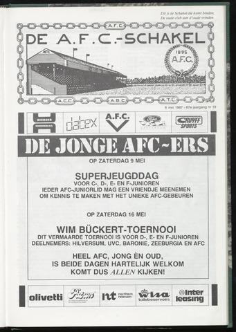 Schakels (clubbladen) 1987-05-06