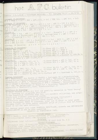 Bulletins (vnl. opstellingen) 1964-12-23