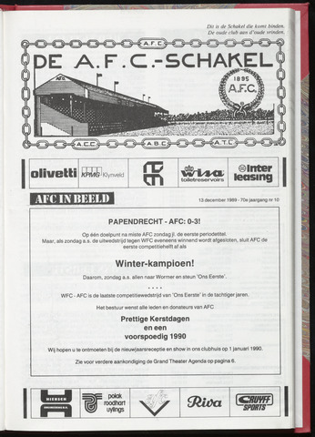 Schakels (clubbladen) 1989-12-13