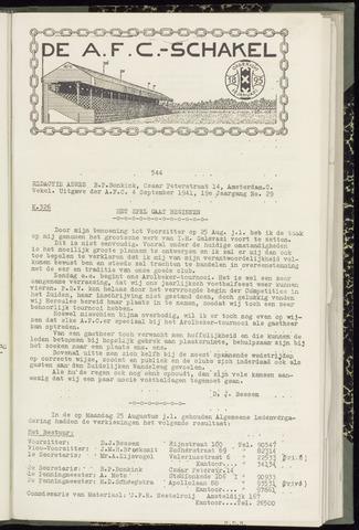 Schakels (clubbladen) 1941-09-04