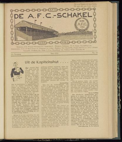 Schakels (clubbladen) 1953-06-01