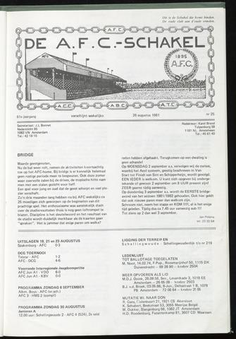 Schakels (clubbladen) 1981-08-26
