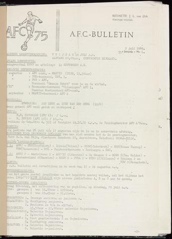 Bulletins (vnl. opstellingen) 1969-07-09