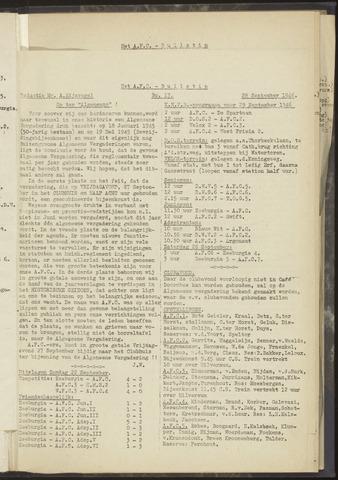 Bulletins (vnl. opstellingen) 1946-09-28