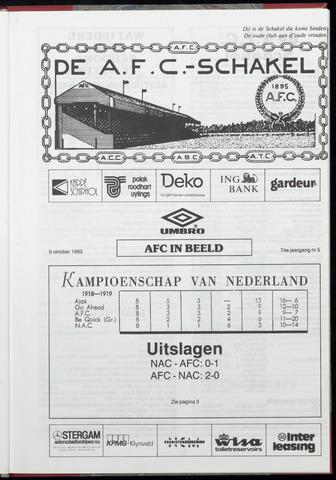 Schakels (clubbladen) 1993-10-06