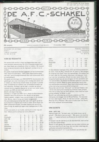 Schakels (clubbladen) 1983-11-02