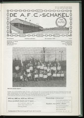 Schakels (clubbladen) 1978-11-22