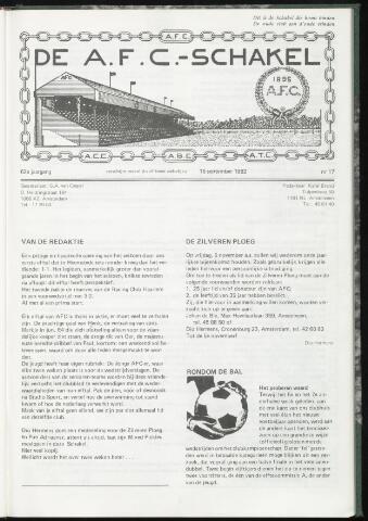 Schakels (clubbladen) 1982-09-15