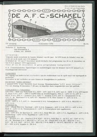 Schakels (clubbladen) 1975-12-09