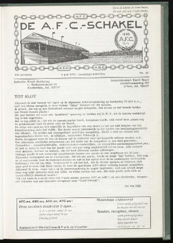 Schakels (clubbladen) 1977-06-01