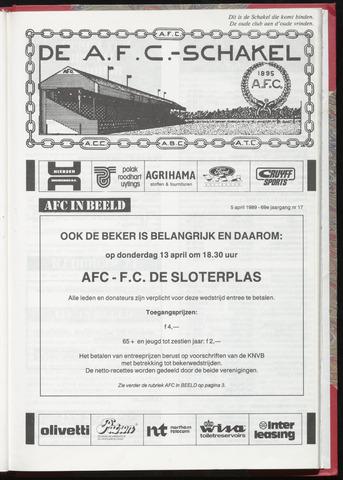 Schakels (clubbladen) 1989-04-05