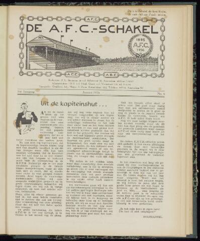 Schakels (clubbladen) 1956