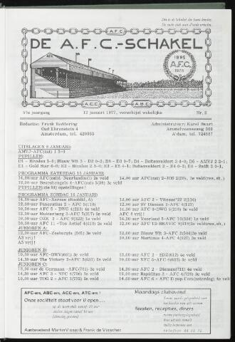 Schakels (clubbladen) 1977-01-12