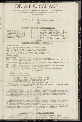 Schakels (clubbladen) 1942-10-01
